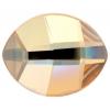 Swarovski Pure Leaf 2204 6X4.8mm Golden Shadow Crystal
